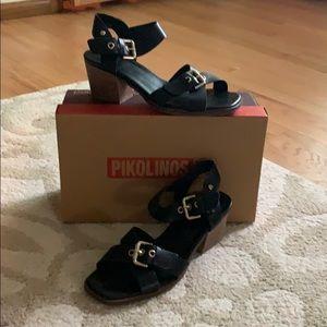 Pikolinos Block Heel Sandal